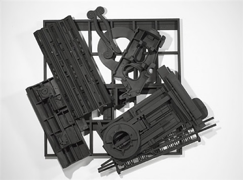 mirror-shadow vii by louise nevelson