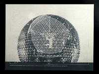 building construction- geodesic dome by buckminster fuller