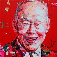lee kuan yew by ren zhenyu