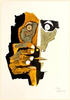untitled by oswaldo guayasamín