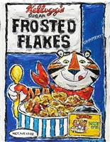 frosted flakes, they're grrreat! by leslie lew