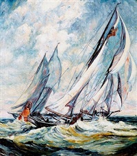 rounding the mark by gifford beal