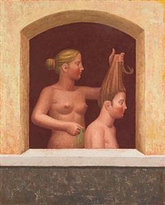 sisters by hermann albert