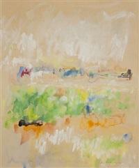 abstract landscape by jane freilicher
