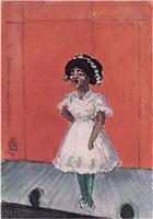 a cuban singer-hoboken by oscar florianus bluemner