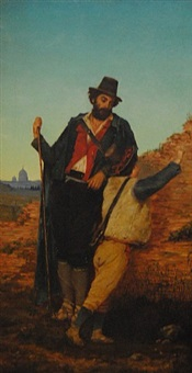 italian peasant (ap-65) by william aiken walker