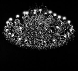untitled (chandelier) by robert longo