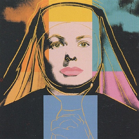 ingrid (the nun) by andy warhol