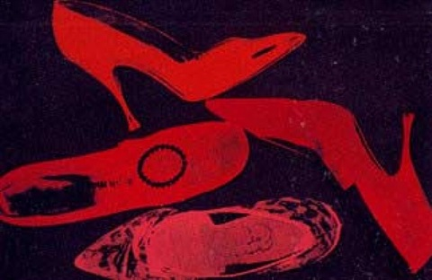 shoes 253 by andy warhol