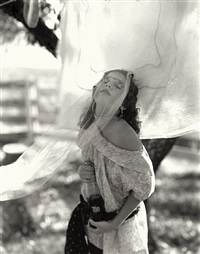 untitled /at twelve/ lisa tab. by sally mann