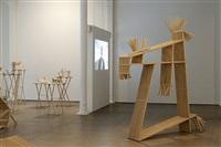 tobias putrih 'the death of tarelkin' - installation view by tobias putrih