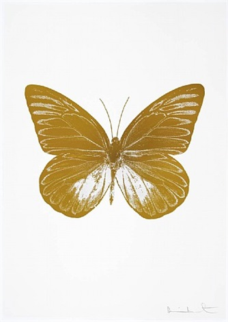 the souls i - paradise copper and cotton white by damien hirst