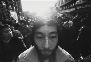 street face no.6 (tianjin, 1988) by mo yi
