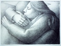 embrace ii by george tooker