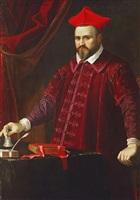 a portrait of cardinal camillo borghese by guido reni