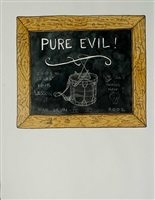 pure evil by william t. wiley