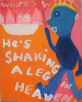 shaking a leg in heaven by jack micheline