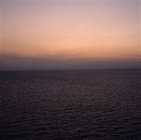 sections of england: the sea horizon no 20, 1976-7 by garry fabian miller