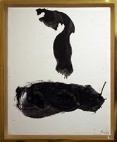 gesture series no. 13 by robert motherwell