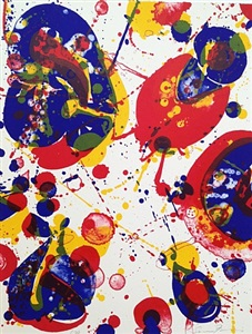 sam francis, original prints and works on paper by sam francis