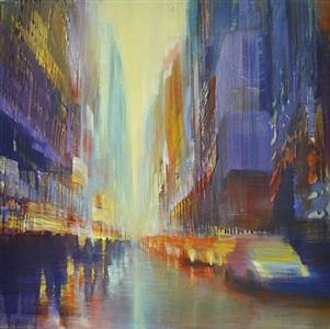 city rhythms by david allen dunlop