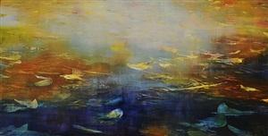 morning mist (sold) by david allen dunlop