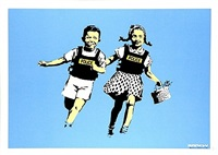jack and jill by banksy
