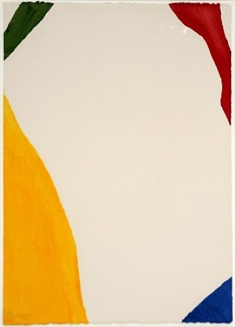 wind directions (from four pochoirs) by helen frankenthaler