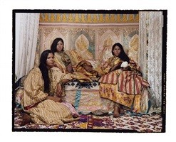 harem revisited #36 by lalla essaydi