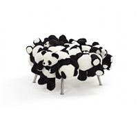 panda stool	 by fernando and humberto campana