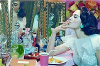 actress #4 by miles aldridge