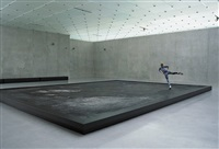l'expédition scintillante, act iii (black ice stage) by pierre huyghe