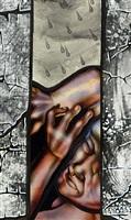 noah detail by judith schaechter