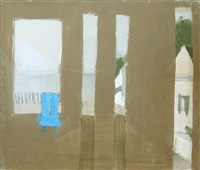 untitled (view of the bay, provincetown) by janice biala