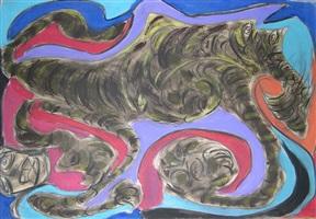 buffalo tiger by thornton dial