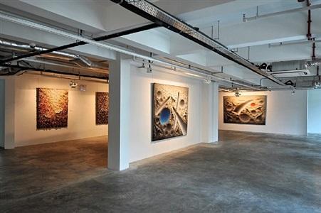 installation view - chun kwang young: assemblage 7 by chun kwang young