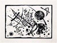 untitled (from ganymed-mappe portfolio) by wassily kandinsky
