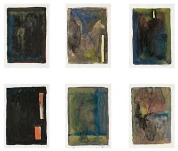 ohne titel / untitled (10 8 7-10 8 12) by günther förg