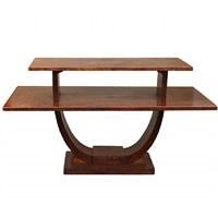 rare coffee table by jules leleu