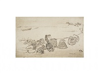 lobster-pots by james abbott mcneill whistler