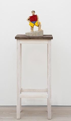 pythagoras by stephan balkenhol