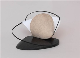 construction: stone with a collar by naum gabo