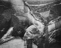 petroglyphs, monument valley, utah by ansel adams