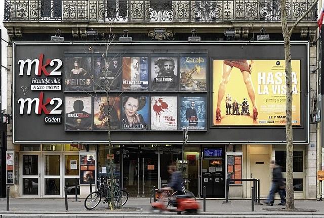 Cinema mk10 Odeon, Paris par Richard Thieler sur artnet