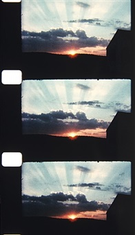 cape cod sunset, 1985 by jonas mekas