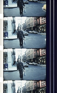 robert frank, prince street, soho n.y., october 27, 1975 by jonas mekas