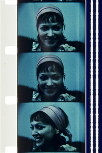 anna karina, dec. 27, 1973, nyc by jonas mekas