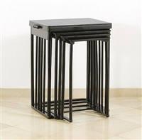 nesting table by josef hoffmann