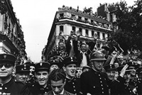 liberation of paris, august 26, 1944 by robert capa
