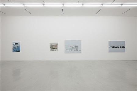 'prosaic landscape' installation view by roh choong-hyun